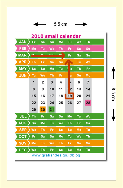 The Small Calendar